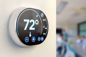 How it works: Save on commercial energy with Encycle Swarm Logic BMS thermostat controller in office.