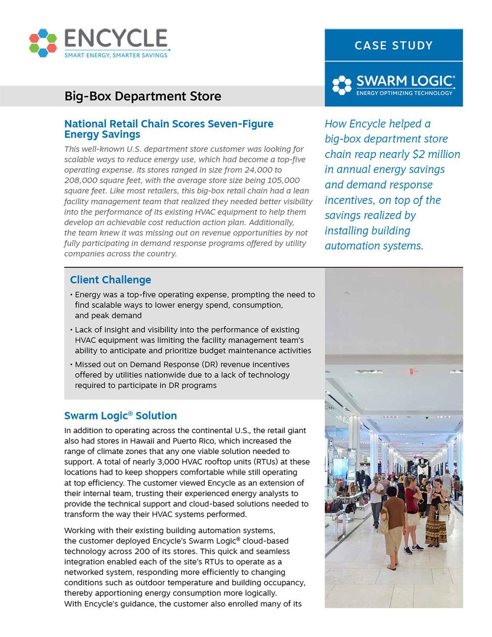 Big-Box Department Store