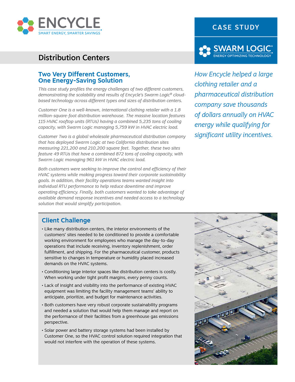 Distribution Centers