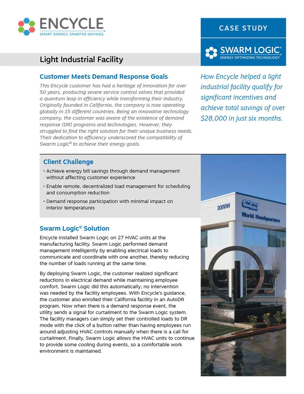 Light Industrial Facility