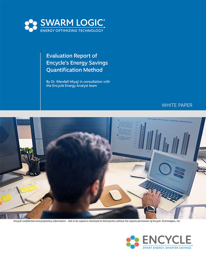 Evaluation Report of Encycle's Energy Savings Quantification Method