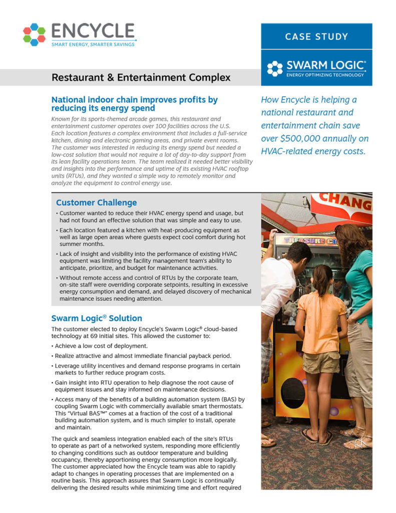 Restaurant & Entertainment Complex